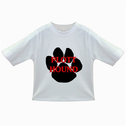 Plott Hound Name Paw Infant/Toddler T-Shirts