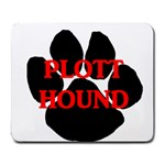 Plott Hound Name Paw Large Mousepads Front