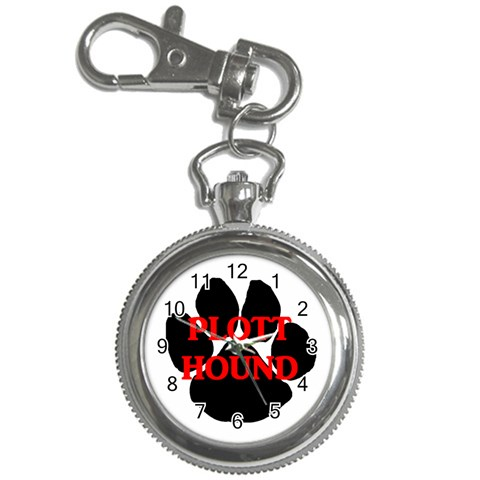Plott Hound Name Paw Key Chain Watches