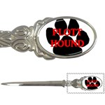 Plott Hound Name Paw Letter Openers Front