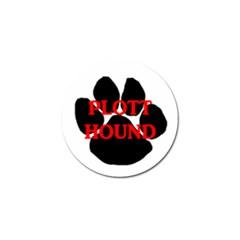 Plott Hound Name Paw Golf Ball Marker (4 pack)