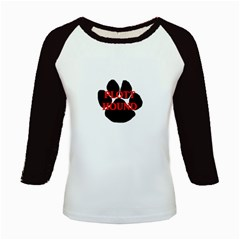 Plott Hound Name Paw Kids Baseball Jerseys