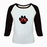 Plott Hound Name Paw Kids Baseball Jerseys Front