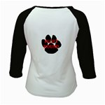 Plott Hound Name Paw Kids Baseball Jerseys Back