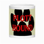 Plott Hound Name Paw Night Luminous Mugs Center