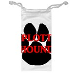 Plott Hound Name Paw Jewelry Bags Front