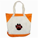 Plott Hound Name Paw Accent Tote Bag Front