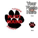 Plott Hound Name Paw Playing Cards 54 (Round)  Front - Joker2