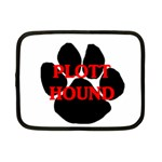 Plott Hound Name Paw Netbook Case (Small)  Front