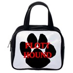 Plott Hound Name Paw Classic Handbags (One Side) Front