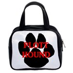 Plott Hound Name Paw Classic Handbags (2 Sides) Front