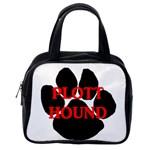 Plott Hound Name Paw Classic Handbags (2 Sides) Back