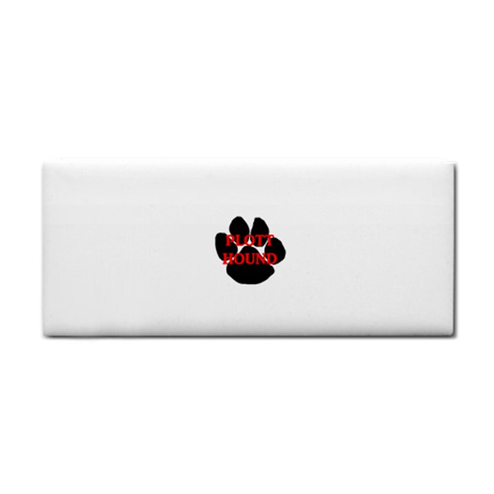 Plott Hound Name Paw Hand Towel