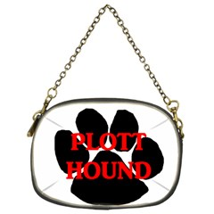 Plott Hound Name Paw Chain Purses (One Side)