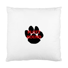 Plott Hound Name Paw Standard Cushion Case (two Sides)