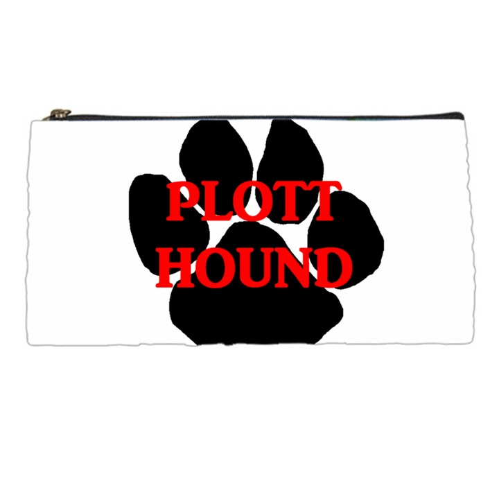 Plott Hound Name Paw Pencil Cases