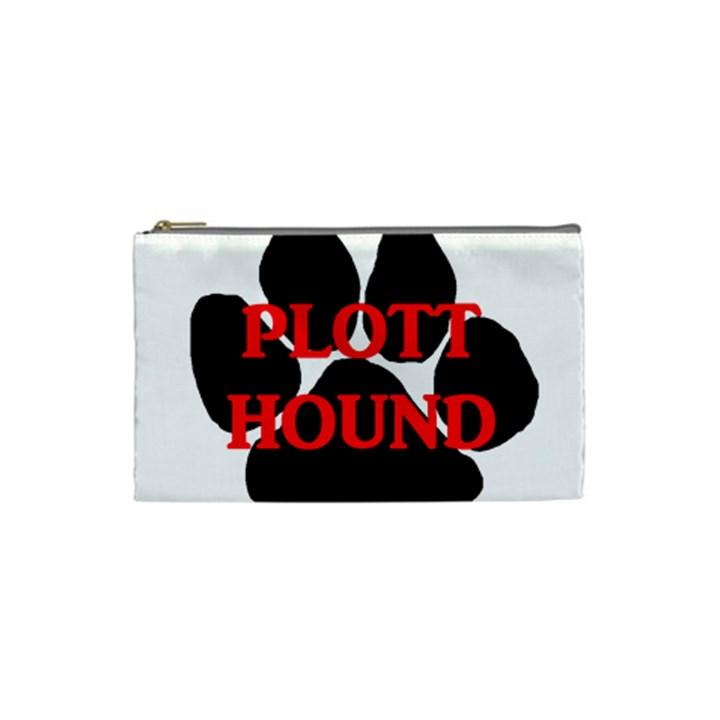 Plott Hound Name Paw Cosmetic Bag (Small)