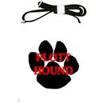 Plott Hound Name Paw Shoulder Sling Bags Front