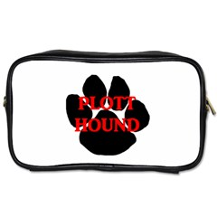 Plott Hound Name Paw Toiletries Bags