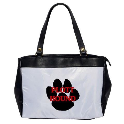Plott Hound Name Paw Office Handbags