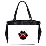 Plott Hound Name Paw Office Handbags (2 Sides)  Front