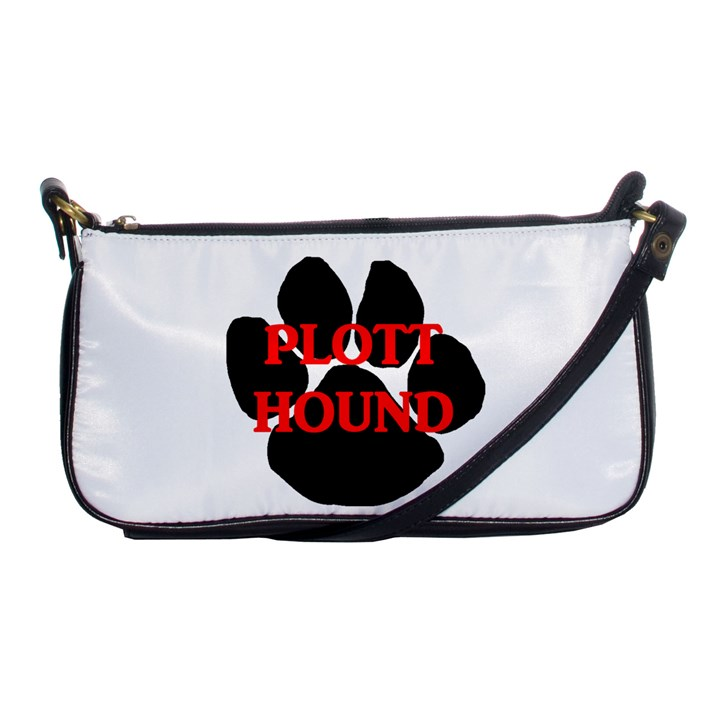 Plott Hound Name Paw Shoulder Clutch Bags