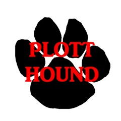 Plott Hound Name Paw Magic Photo Cubes