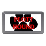 Plott Hound Name Paw Memory Card Reader (Mini) Front