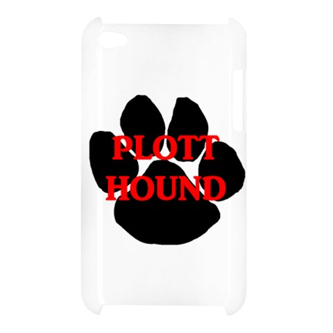 Plott Hound Name Paw Apple iPod Touch 4