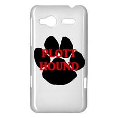 Plott Hound Name Paw HTC Radar Hardshell Case