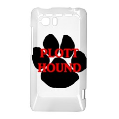 Plott Hound Name Paw HTC Vivid / Raider 4G Hardshell Case
