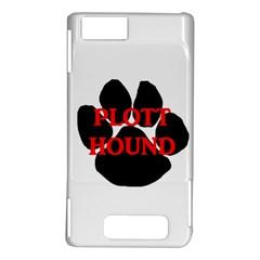 Plott Hound Name Paw Motorola DROID X2