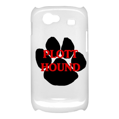 Plott Hound Name Paw Samsung Galaxy Nexus S i9020 Hardshell Case