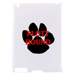 Plott Hound Name Paw Apple iPad 2 Hardshell Case (Compatible with Smart Cover)