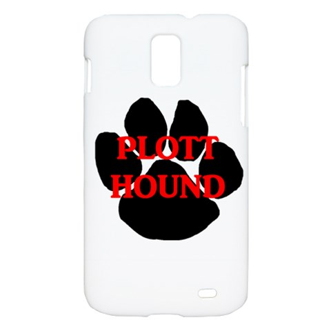 Plott Hound Name Paw Samsung Galaxy S II Skyrocket Hardshell Case