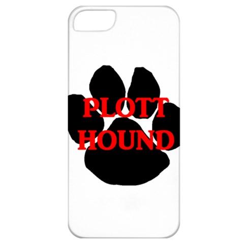 Plott Hound Name Paw Apple iPhone 5 Classic Hardshell Case