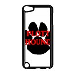 Plott Hound Name Paw Apple iPod Touch 5 Case (Black) Front