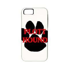 Plott Hound Name Paw Apple iPhone 5 Classic Hardshell Case (PC+Silicone)