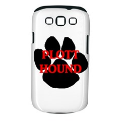 Plott Hound Name Paw Samsung Galaxy S III Classic Hardshell Case (PC+Silicone)