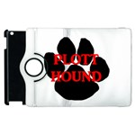 Plott Hound Name Paw Apple iPad 2 Flip 360 Case Front