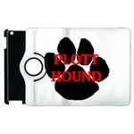 Plott Hound Name Paw Apple iPad 3/4 Flip 360 Case Front