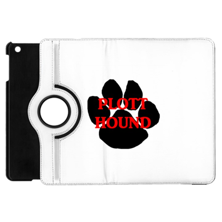 Plott Hound Name Paw Apple iPad Mini Flip 360 Case