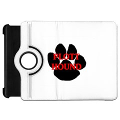 Plott Hound Name Paw Kindle Fire HD Flip 360 Case