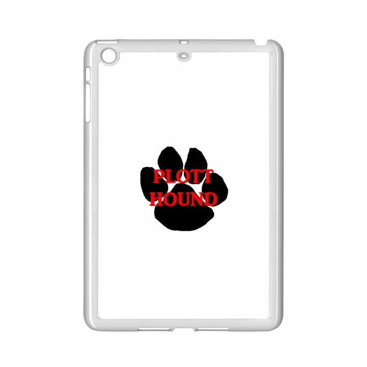 Plott Hound Name Paw iPad Mini 2 Enamel Coated Cases