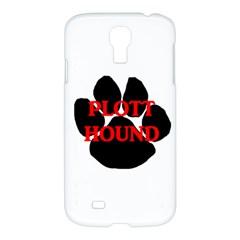 Plott Hound Name Paw Samsung Galaxy S4 I9500/I9505 Hardshell Case