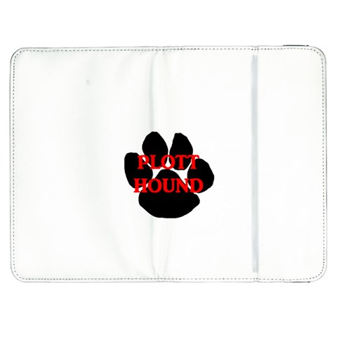 Plott Hound Name Paw Samsung Galaxy Tab 7  P1000 Flip Case