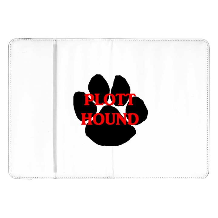 Plott Hound Name Paw Samsung Galaxy Tab 8.9  P7300 Flip Case