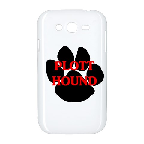 Plott Hound Name Paw Samsung Galaxy Grand DUOS I9082 Hardshell Case