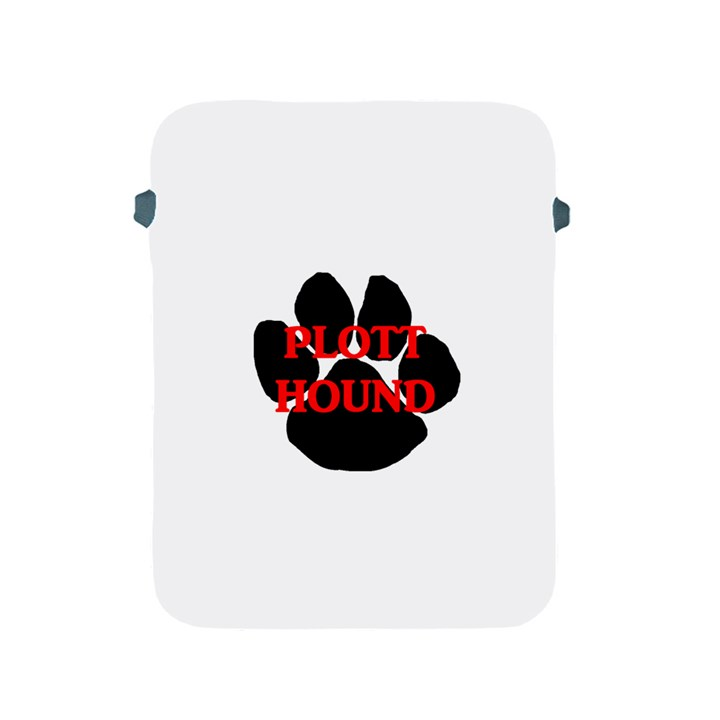Plott Hound Name Paw Apple iPad 2/3/4 Protective Soft Cases