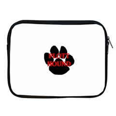 Plott Hound Name Paw Apple iPad 2/3/4 Zipper Cases